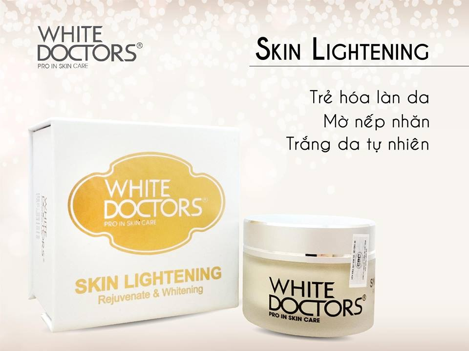white doctors skin lightening